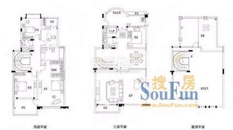 龟山别墅房型图