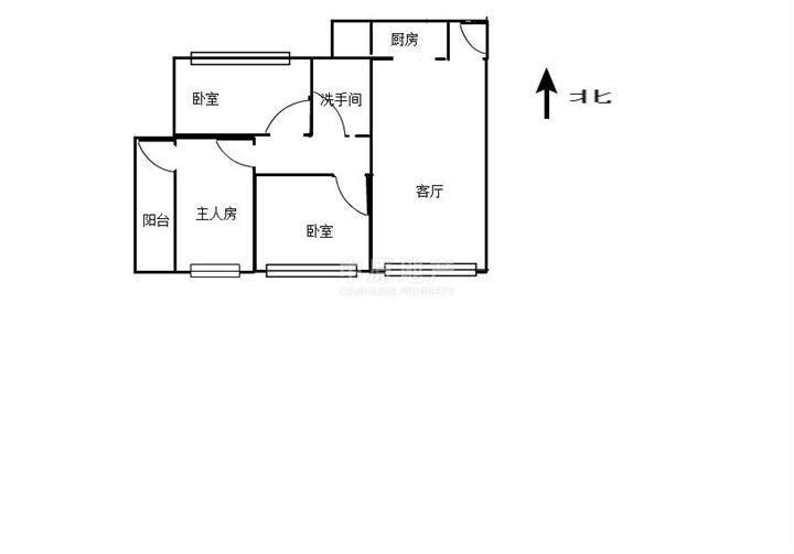 四房二厅一厨一卫设计图展示