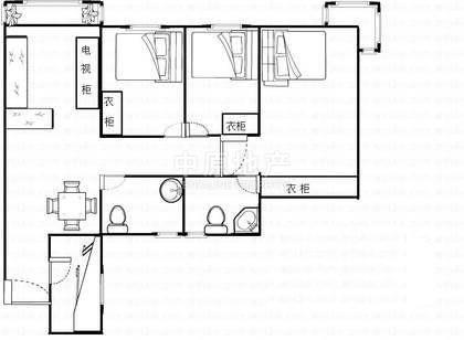 《优房》环岛丽园 77平3房 水库景观 地铁口 螺岭小学
