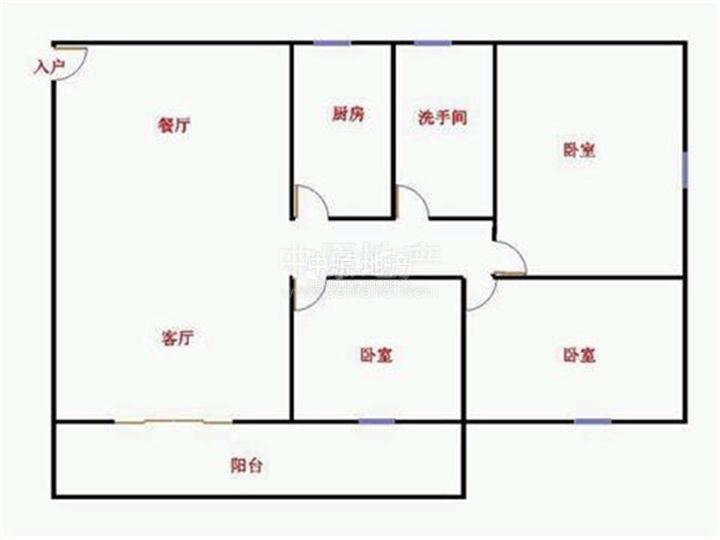商品房的厕所结构图